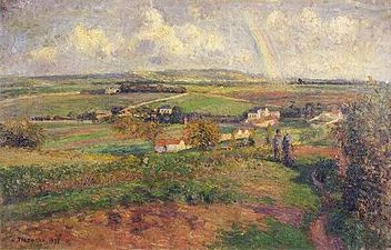 Camille Pissarro The Rainbow.jpg