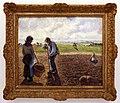 Camille pissarro, contadini nei campi, éragny, 1890, 01.jpg