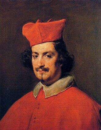 Camillo Astalli - Portrait by Diego Velázquez, 1650 (Hispanic Society, New York)