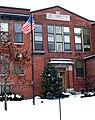 CamillusUnionFreeSchool frontdoordetail 2007dec14.jpg