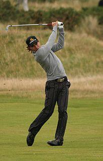 Camilo Villegas Colombian professional golfer