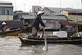 Can Tho, Vietnam, Floating Market, Rawing.jpg