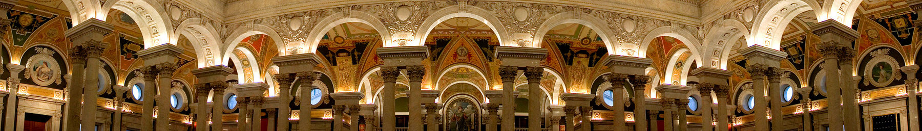 The Library of Congress foyer