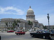Il Capitolio, in Centro Habana