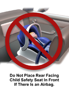 Car Seat - Not in Front Seat
