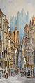 Cardinal A. - Watercolor - Vue de Beauvais - 19x50cm.jpg