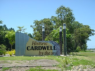 Cardwell, Queensland - Entrance to Cardwell, Highway 1