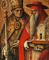 Carlo Crivelli - St Jerome and St Augustine (detail) - WGA5794.jpg