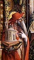 Carlo crivelli, madonna della rondine, post 1490, da s. francesco a matelica, 04 girolamo.jpg