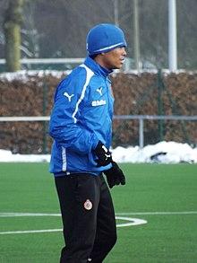 Bacca in allenamento al Bruges nel gennaio del 2013