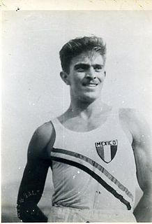 Carlos de Anda Mexican sprinter