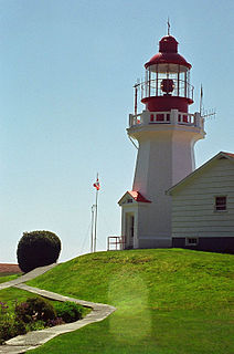 lighthouse in British Columbia, Canada