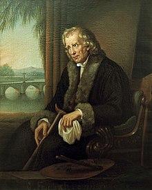 Caroline Bardua: Caspar David Friedrich, 1840 (Quelle: Wikimedia)