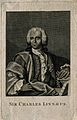 Carolus Linnaeus. Line engraving after G. Lundberg, 1751. Wellcome V0003594EL.jpg