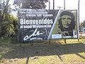 """Cartel Caraguatay - Hogar misionero de Ernesto """"Che"""" Guevara 01.JPG"""