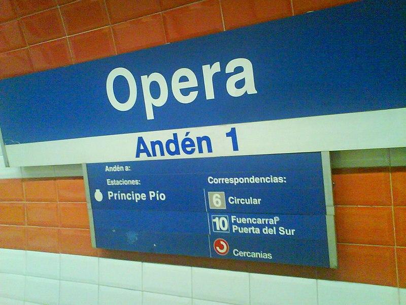 Estación de Opera
