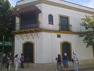 Raúl Alfonsín - The house where Alfonsín lived during his childhood in Chascomús