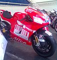 Casey Stoner's bike in Brno.jpg
