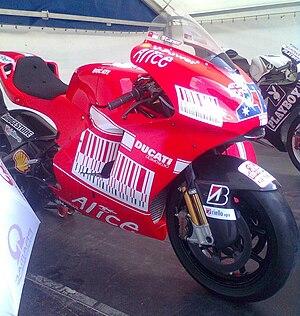 Casey Stoner - Stoner's bike in Brno