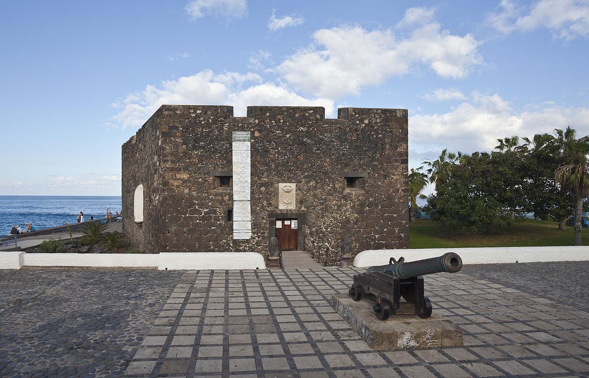 Castillo de san felipe puerto de la cruz wikipedia la enciclopedia libre - Hotel san felipe tenerife puerto de la cruz ...