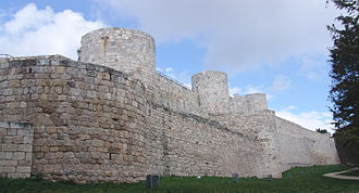 Burgos - Ruins of the Castle of Burgos, of a possible Visigothic origin.