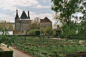 Château de Talcy - Vegetable garden.