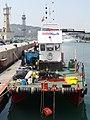 Catamarà INSTALSUB - Port Vell 02.JPG