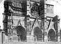 Cathédrale Saint-Etienne - Façade ouest, partie inférieure - Meaux - Médiathèque de l'architecture et du patrimoine - APMH00013922.jpg