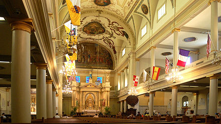 st louis cathedral new orleans wikipedia