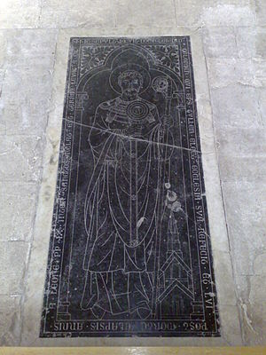 Gerard of Toul - Tomb in the Toul Cathedral.