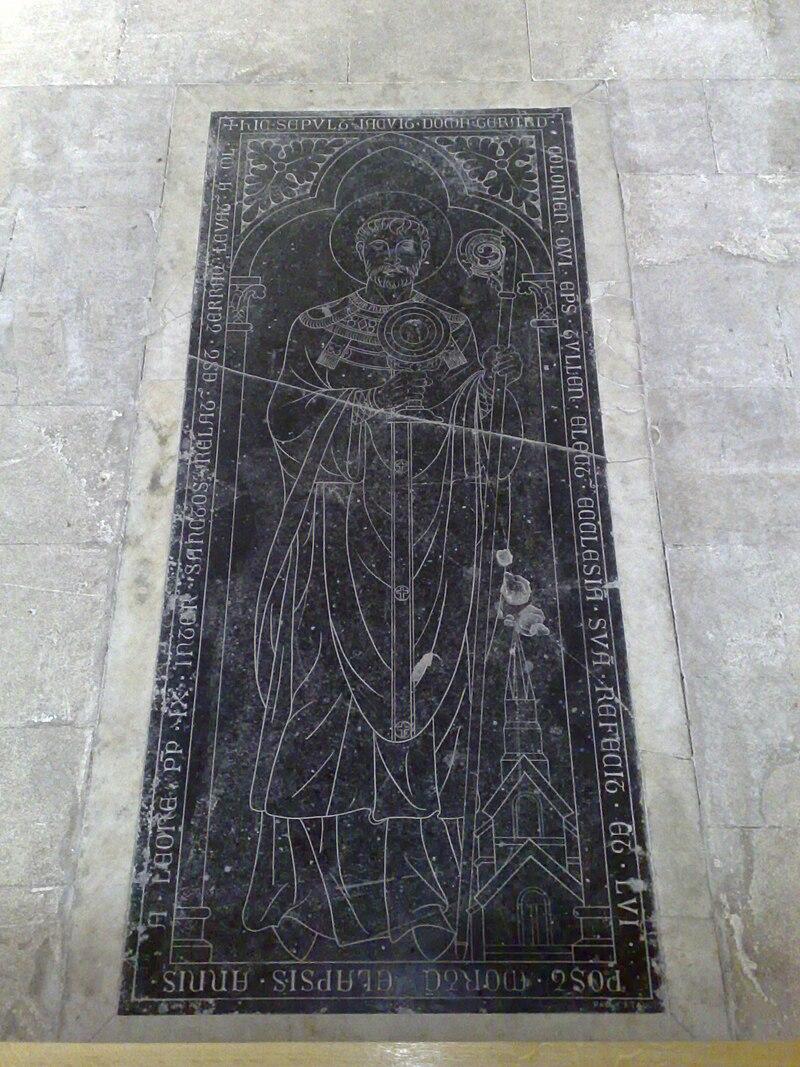 Gerhards grav i katedralen i Toul