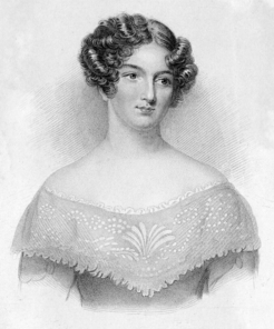 """Catherine Gore English """"silver-fork"""" novelist and dramatist"""