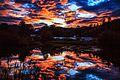 Celista B.C.spectacular rainbows at sunset in the rain (11266146873).jpg