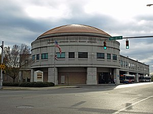 Jefferson County, Alabama - Birmingham-Jefferson County Transit Authority Station in Birmingham.