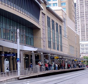 1 Street Southwest and Centre Street stations