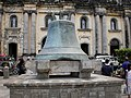 Centuries Old Bell at Basilica of Saint Martin de Tours, Taal, Batangas - panoramio.jpg