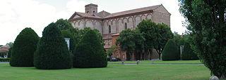 cemetery in Ferrara, Italy