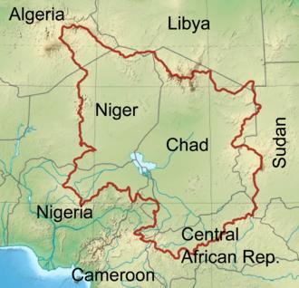 Chad Basin - Chad Basin outline