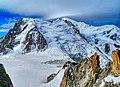 Chamonix-Mont-Blanc Aiguille du Midi Vue sur Mont-Blanc 17.jpg