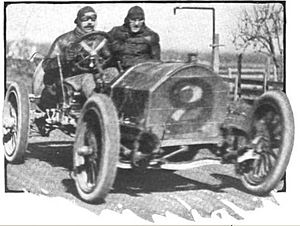 Portola Road Race - Charles Bigelow racing his Mercer car