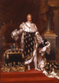 Charles X of France in his coronation robes by Paulin Guerin.png