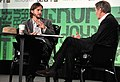 Charlie Rose and Ashton Kutcher during TechCrunch Disrupt New York May 2011, 4.jpg