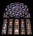 Chartres Cathedral North Transept North Rose Window 2007 08 31.jpg
