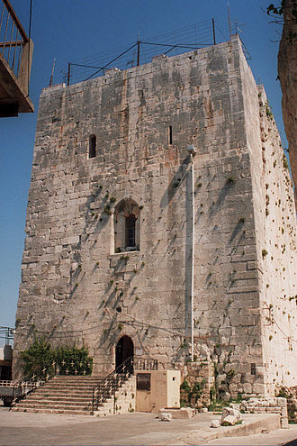 Pons, Count of Tripoli - Fortress of Safita, granted to Pons by Tancred of Antioch