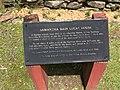 Cherokee Heritage Center - Samantha Bain Lucas House stele (2015-05-27 14.02.46 by Wesley Fryer).jpg