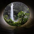 Chet Chet Waterfall from Under the Tunnel.jpg