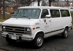 133cde5dec Chevrolet van - Wikipedia