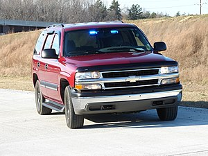 Chevrolet Tahoe Police package
