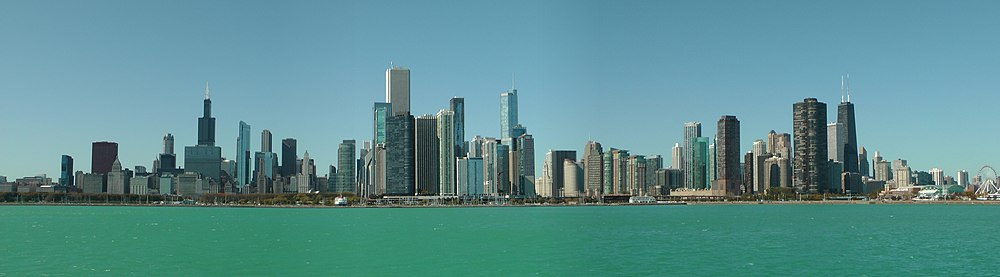 Chicago Skyline from Lake Michigan.jpg