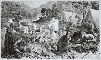 Rock Springs massacre - A typical 19th-century Chinese–American mining camp